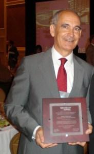 Rafael Mujeriego, premio Person of the Year Award  por la American WateReuse Association