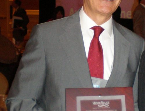 Rafael Mujeriego, premio Person of the Year Award  por la American WateReuse Association
