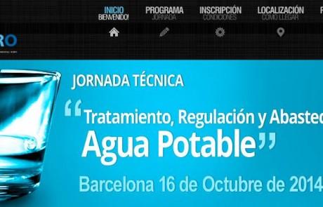 Jornada técnica sobre Tratamiento, Regulación y Abastecimiento de Agua Potable