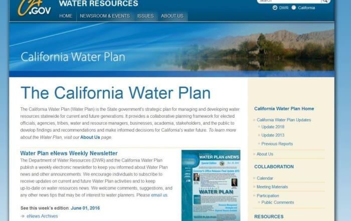 Plan Hidrológico de California