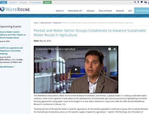Agricultura urbana con agua regenerada