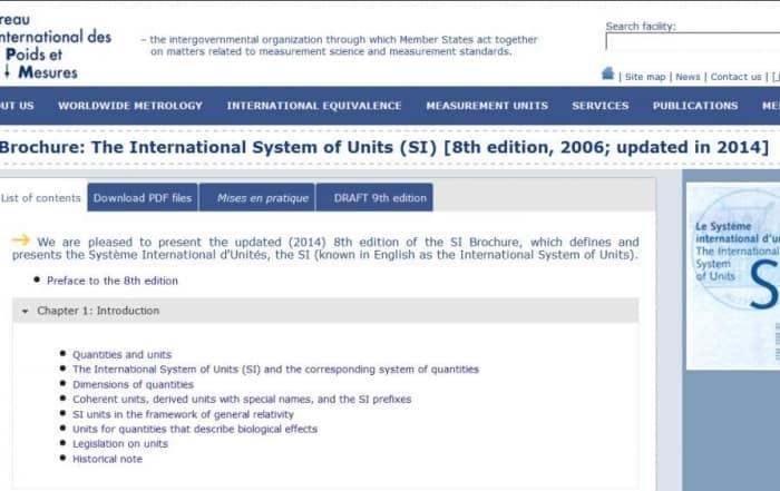 El sistema internacional (SI) de unidades: hm3 vs Gigalitros