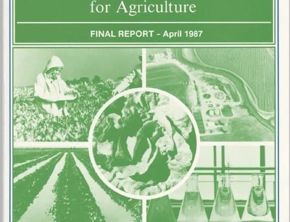 Monterey Wastewater Reclamation Study for Agriculture Final Report