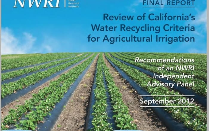 Review of Californias's Water Recycling Criteria for Agricultural Irrigation