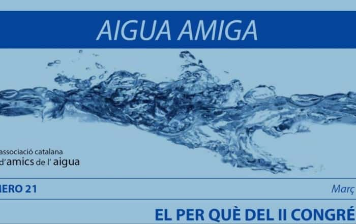 Aigua Amiga entrevista a Rafael Mujeriego