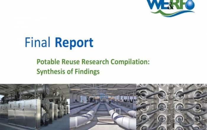 Estado científico y técnico de la reutilización potable directa