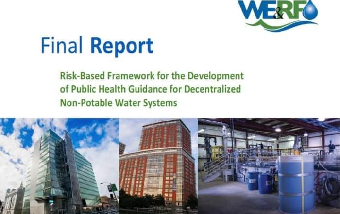 Nueva guía para la reutilización descentralizada del agua