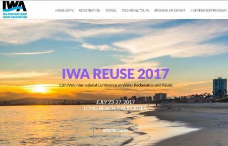 11ª IWA Conferencia internacional sobre reutilización