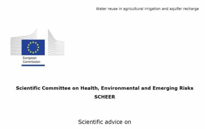 Dictamen del SCHEER sobre la reutilización del agua