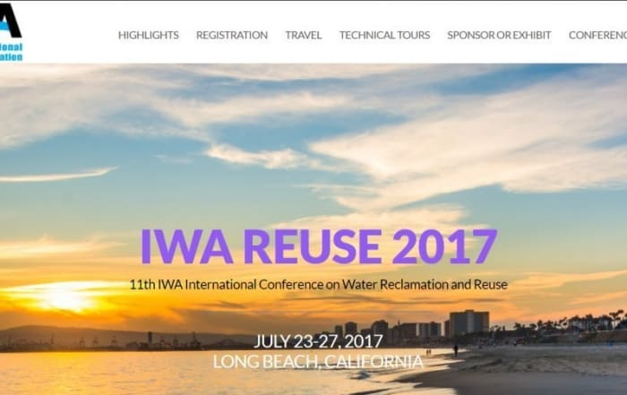 IWA Water Reuse 2017
