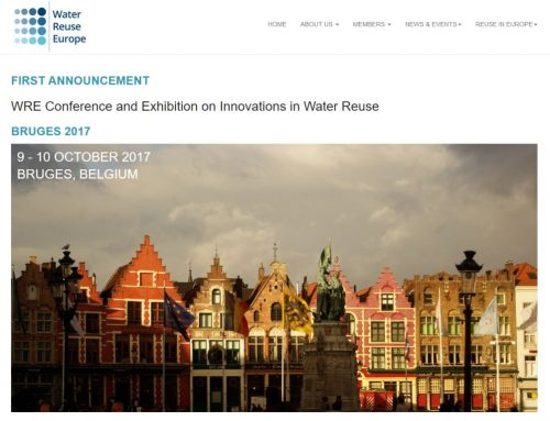 WRE Conference and Exhibition on Innovations in Water Reuse