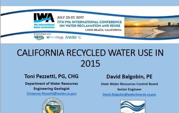 Inventario de la reutilización en California en 2015