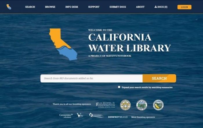 Biblioteca del Agua de California