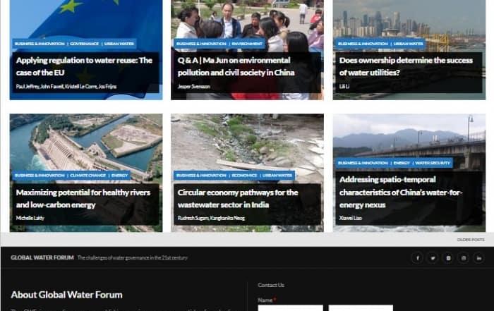 Normativa sobre la reutilización del agua: El caso de la UE