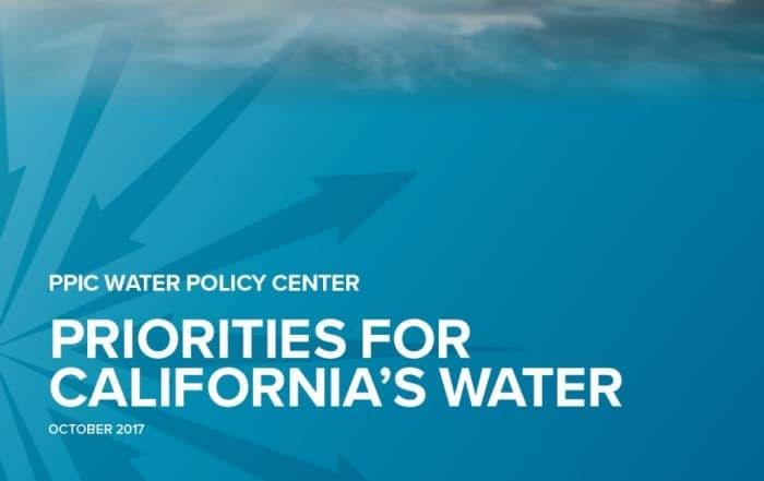 Prioridades hídricas en California