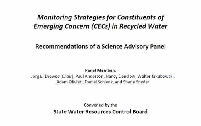 Comentarios al informe del Panel de Expertos sobre CEC