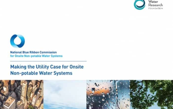 Sistemas descentralizados de reutilización no-potable del agua