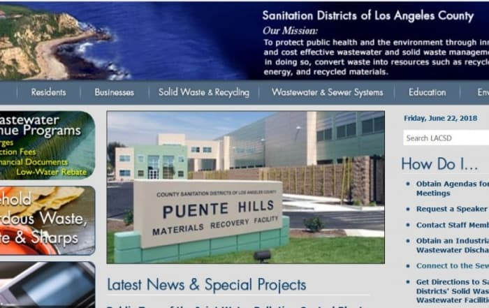 La reutilización del agua en el Condado de Los Ángeles