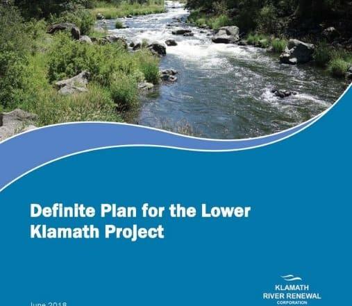 Supresión de cuatro presas en el río Klamath