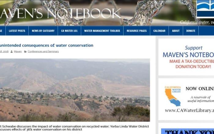 Consecuencias no deseadas del ahorro de agua