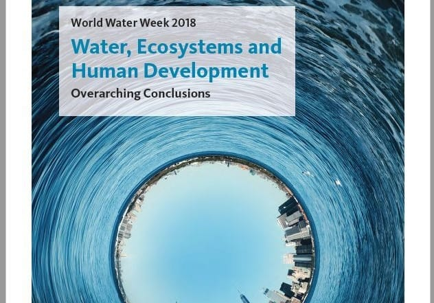 World Water Week 2018: Conclusiones Principales
