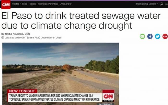 La reutilización potable del agua en El Paso, Texas