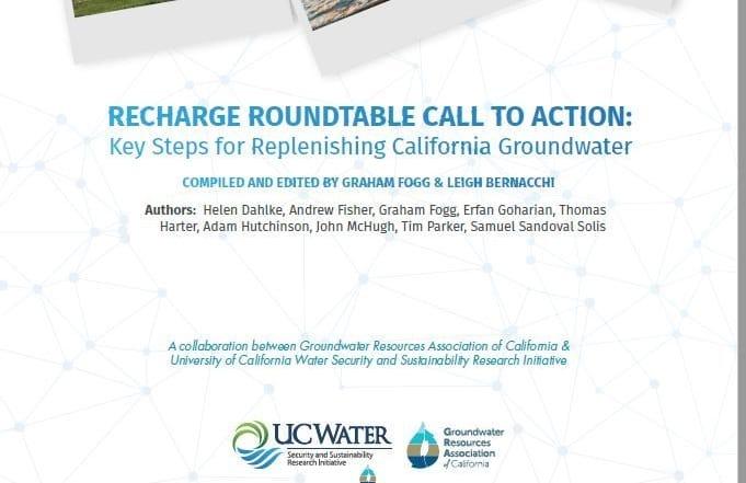 Seis cuestiones esenciales sobre la recarga de acuíferos