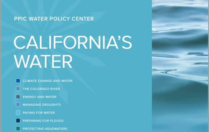 13 retos para la gestión del agua en California