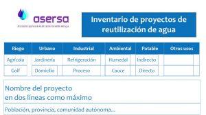 Formulario de Inventario de Proyectos