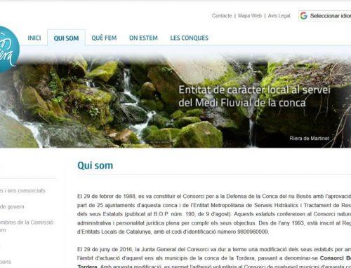 Consorci Besòs Tordera: Plan director de reutilización del agua