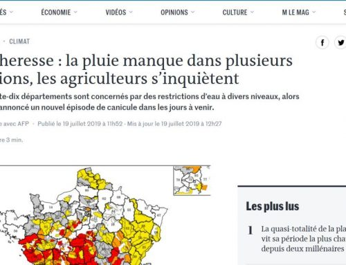 La sequía y la agricultura en la prensa francesa