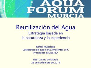 Participación en AquaForum Murcia