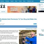 Scottsdale ya produce agua regenerada para consumo humano