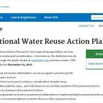 Plan de Acción Nacional (USEPA) para la Reutilización del Agua