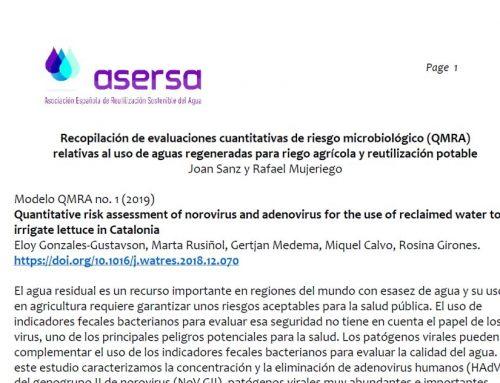 Evaluaciones del riesgo microbiológico (QMRA) de la reutilización del agua