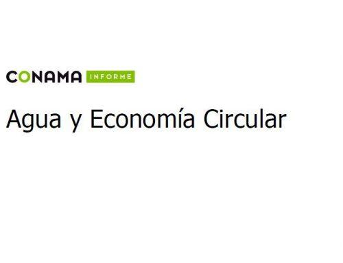 CONAMA: agua y economía circular