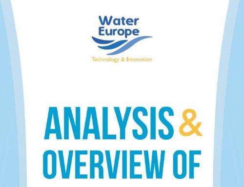 Análisis y visión de los miembros de Water Europe