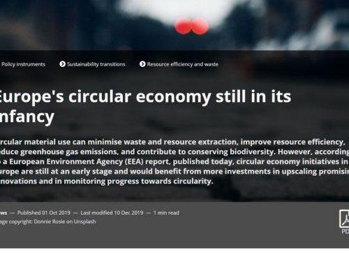 Allanando el camino para la economía circular en la UE