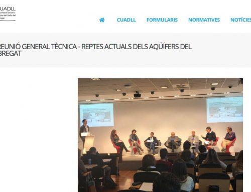 Retos actuales de los acuíferos del Llobregat