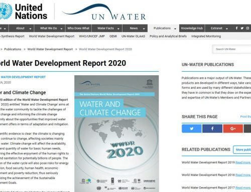 UN World Water Development Report 2020