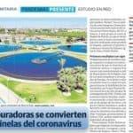 Agua regenerada y COVID-19 en España