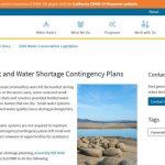 Planes de contingencia contra la sequía y la escasez