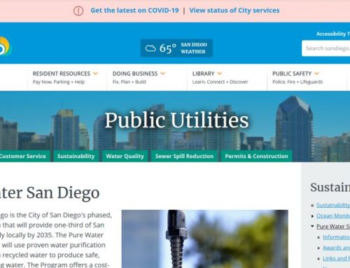 El Pure Water Program de San Diego sigue avanzando