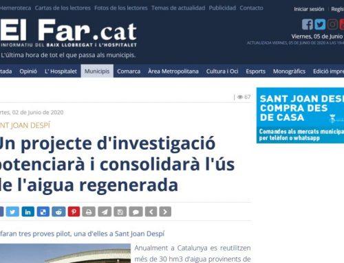 Investigación sobre reutilización potable indirecta en Catalunya
