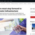 El progreso de las infraestructuras hídricas depende de los visionarios