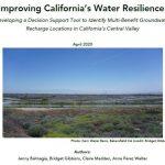 Herramienta cartográfica para identificar zonas de recarga de acuíferos