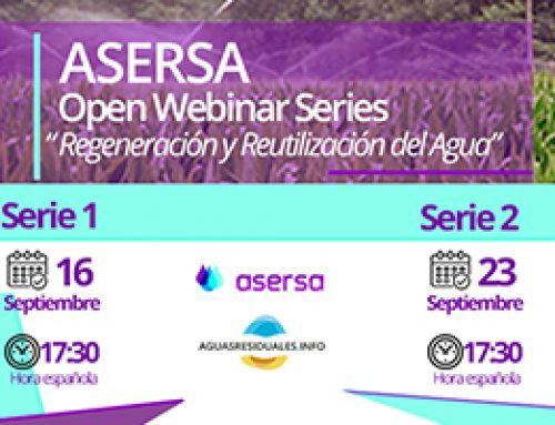 Open Webinar Series sobre Regeneración y Reutilización