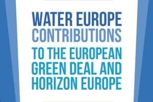 Water Europe: contribuciones al European Green Deal & Horizon Europe