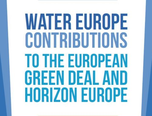 Water Europe: contribuciones al European Green Deal & Horizon Europe