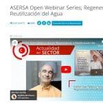 Entrevista anunciadora del ASERSA Open Webinar Series